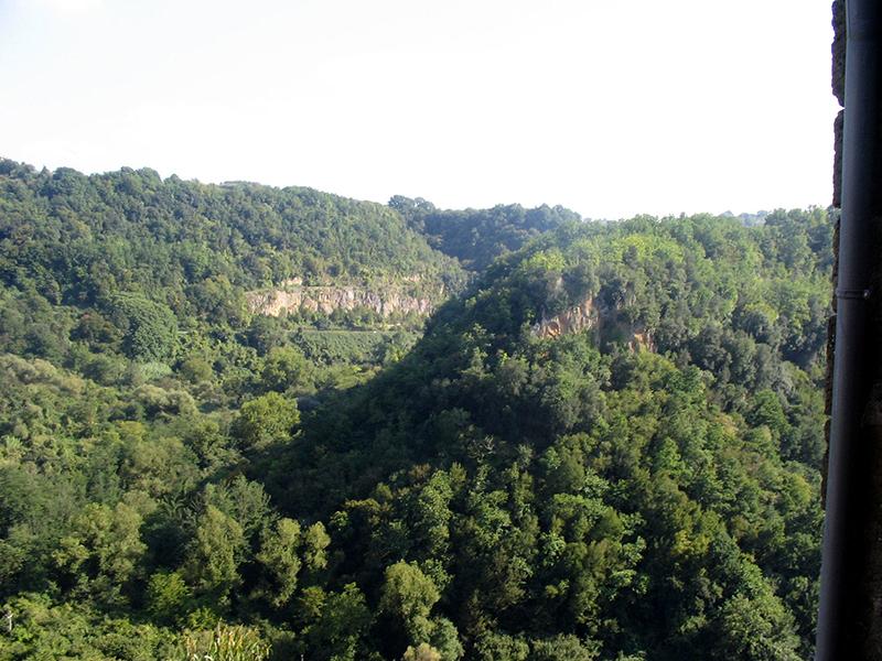 Parco Valle del Treja a Calcata